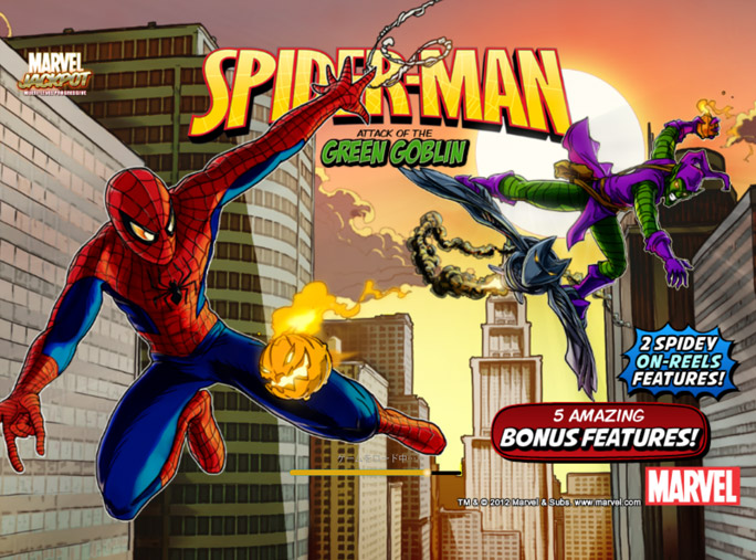 スロット:Spider-Man Attack of the Green Goblin