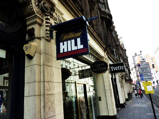 ロンドンには沢山の路面店を有する。