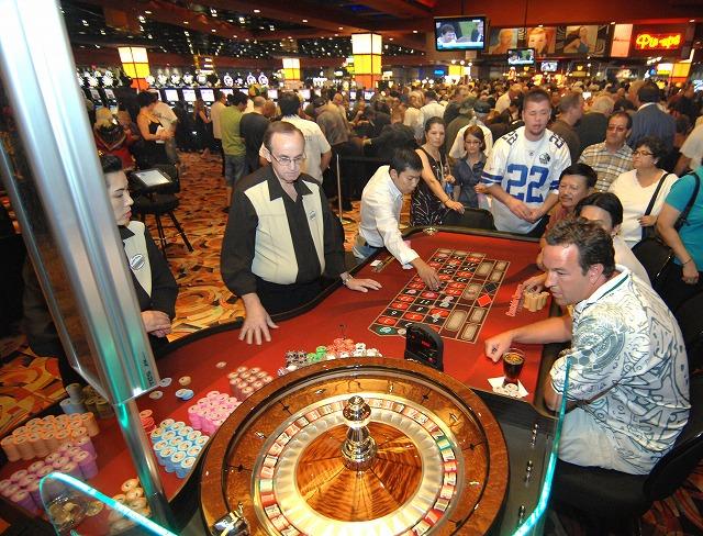 カジノの集中するゲスト