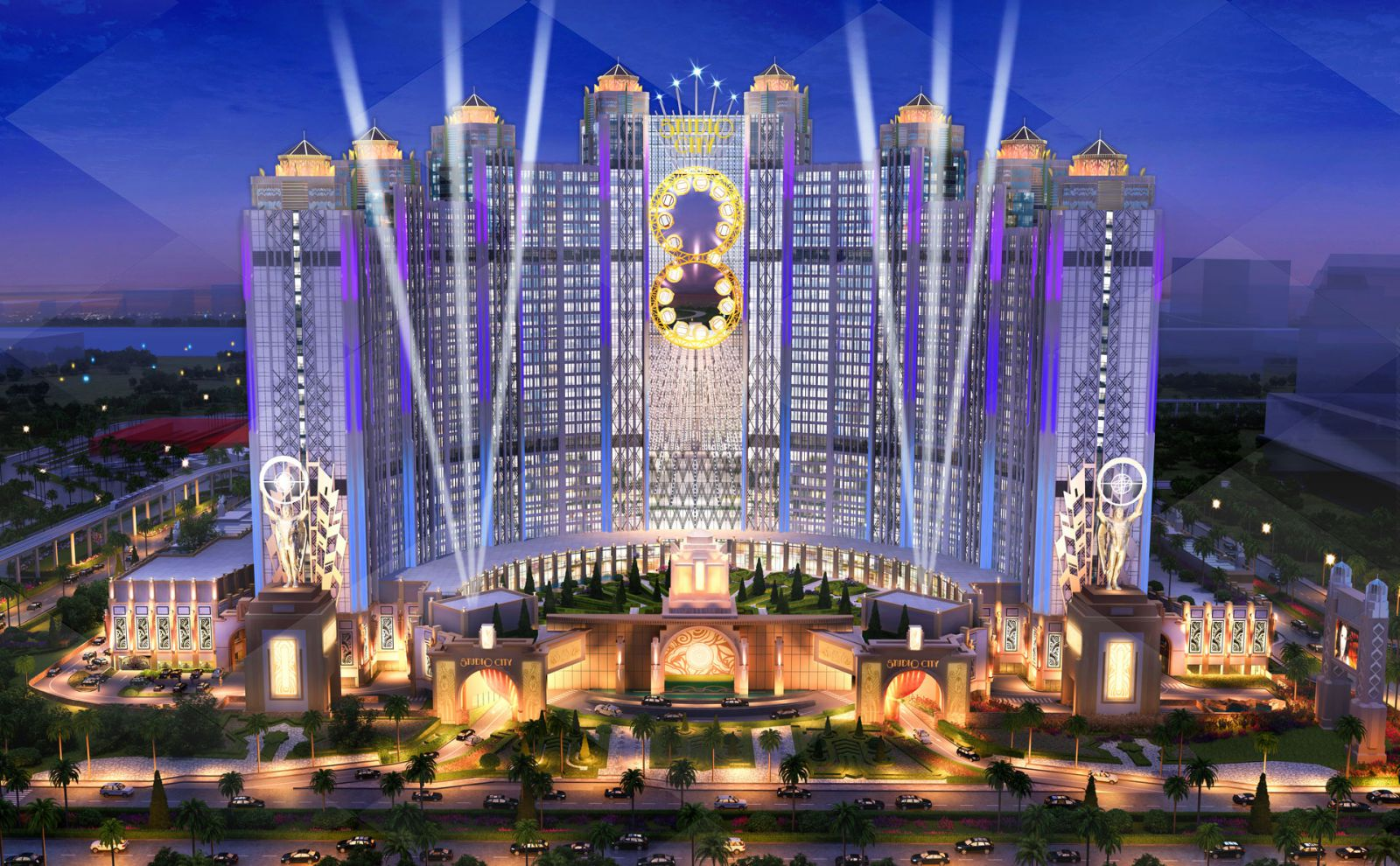 Melco Crown Entertainmentの最新施設