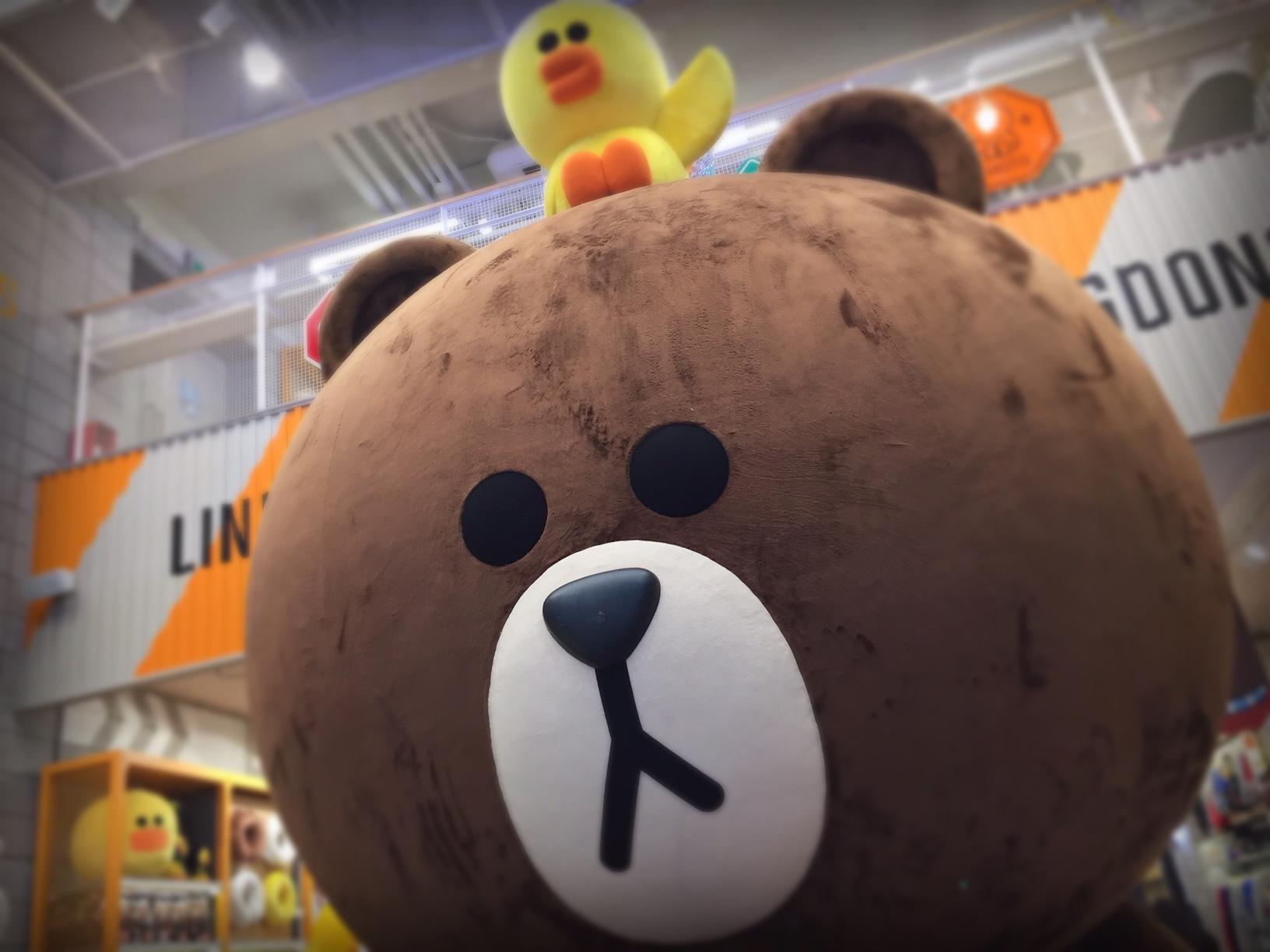 ブラウンとサリーの巨大オブジェは最高♡♡♡