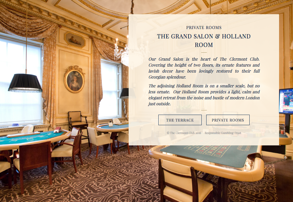 プライベートルーム「THE GRAND SALON & HOLLAND ROOM」