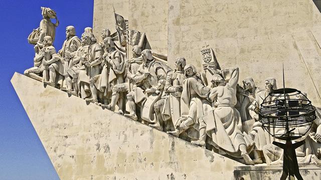 ポルトガルのリスボンにある「発見のモニュメント」