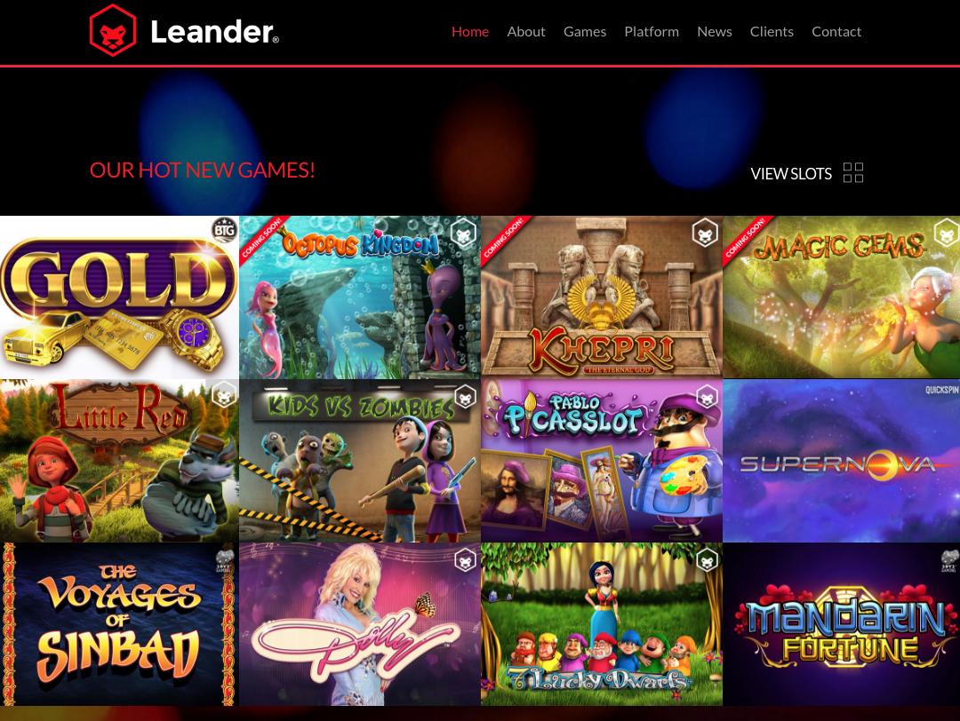 Leander Games(リアンダーゲーム)