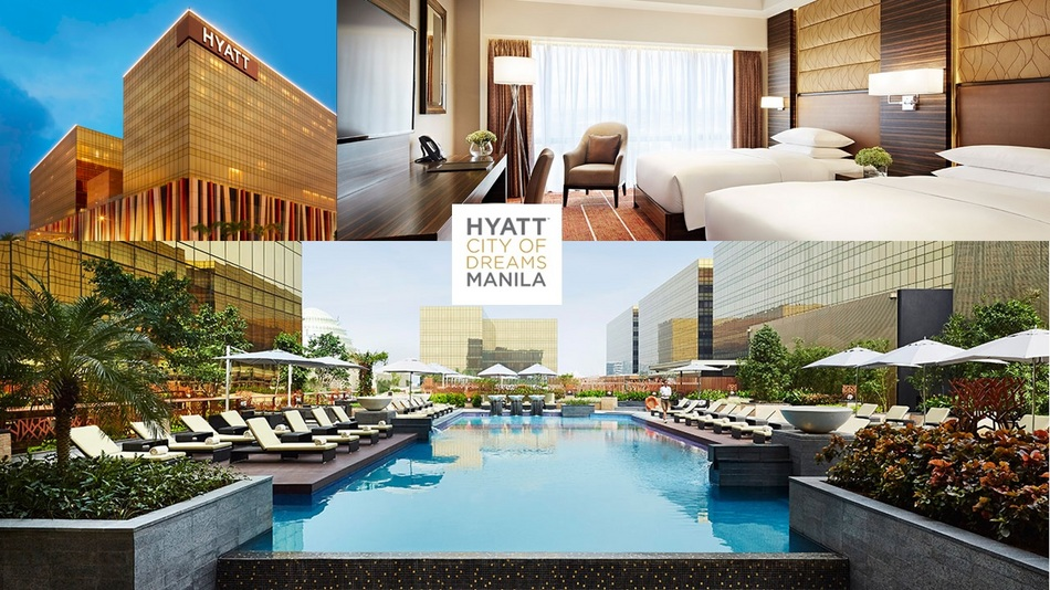 5つ星ホテル「Hyatt City of Dreams Manila」