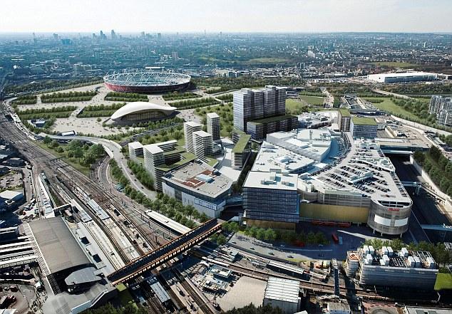 前例は、ロンドンのストラットフォードシティ