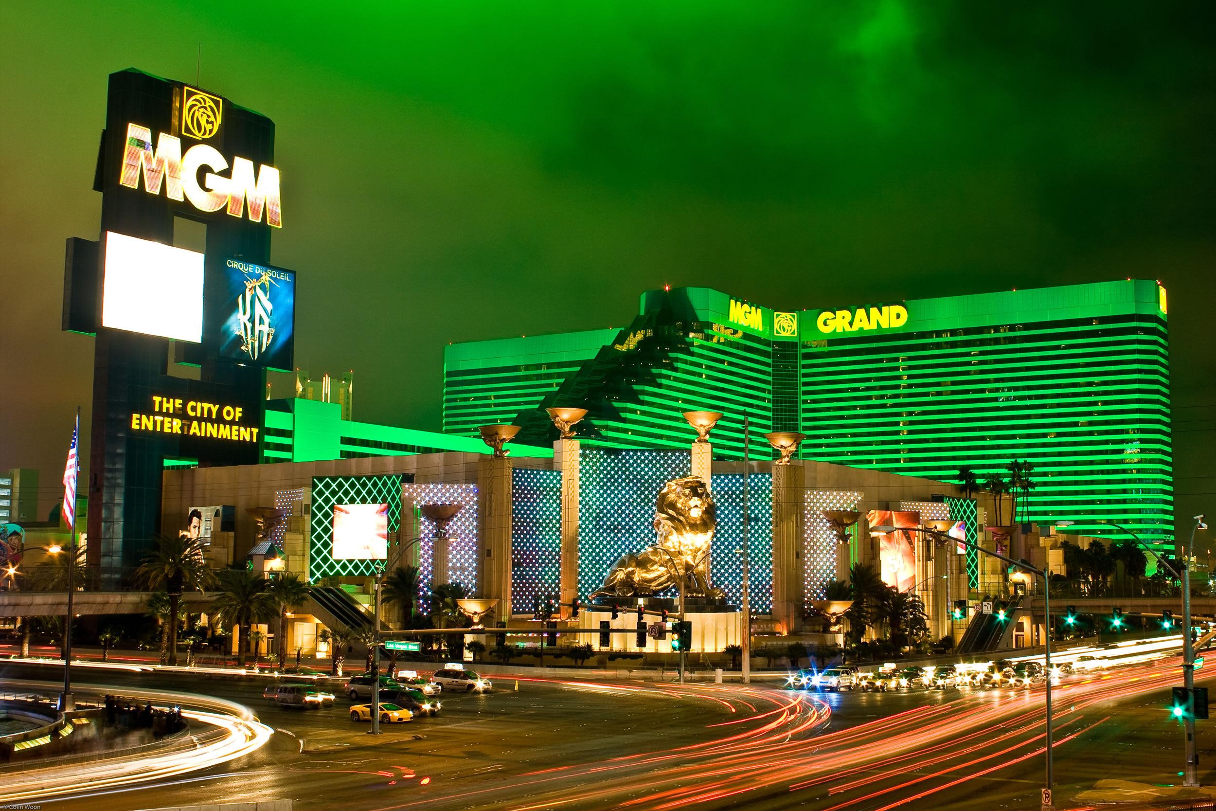 1位は4回のMGM Grand Hotel & Casino