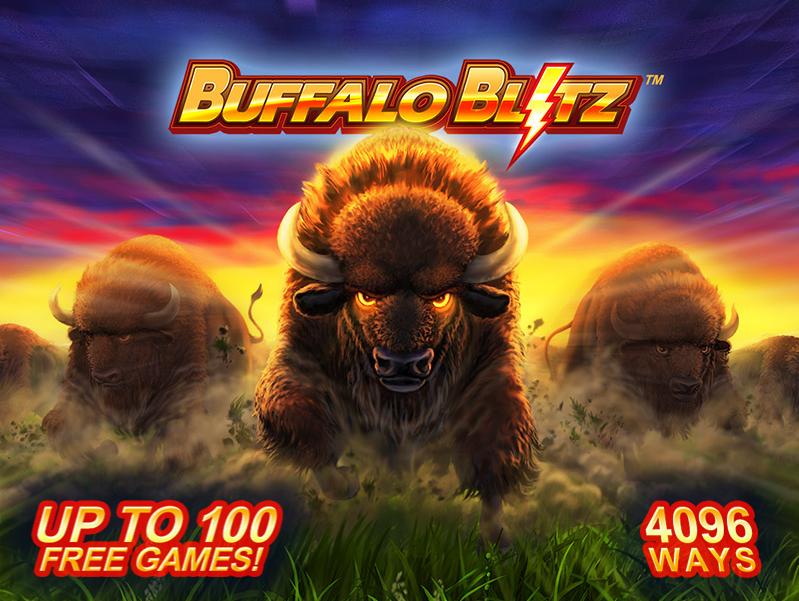 プレイテック社のビデオスロット「Buffalo Blitz」