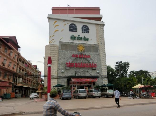 壁にはベトナム語が・・・