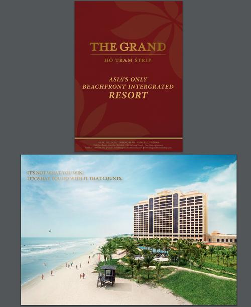 THE GRANDというホテルの紹介に・・・
