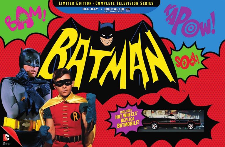 テレビシリーズのバットマンはかなりコメディ・・・
