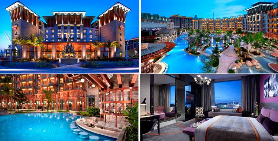 シンガポールのハードロックホテル