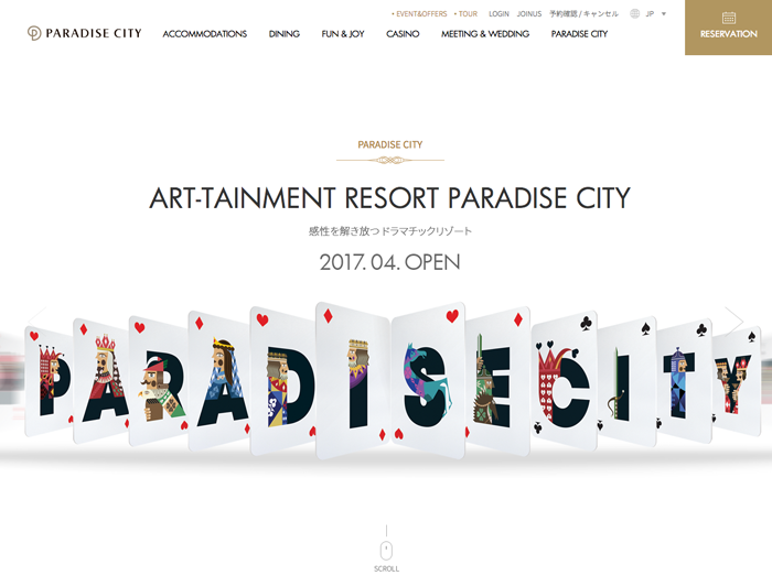 ART-TAINMENT RESORT PARADISE CITY