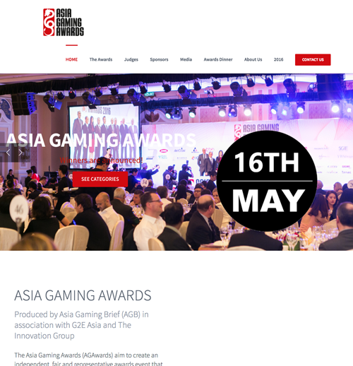 ASIA GAMING AWARDS 2017