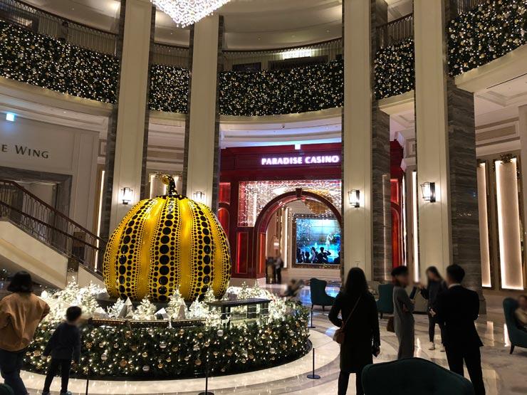 クリスマス近づくパラダイスシティ